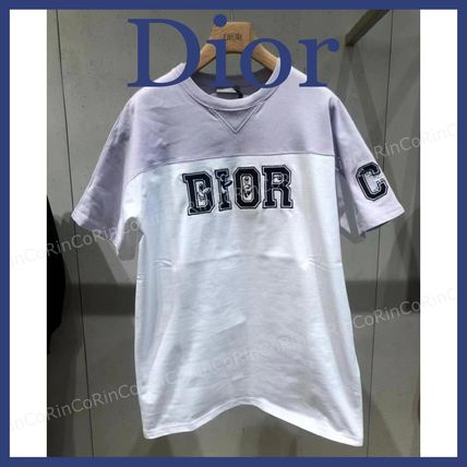 Christian Dior More T-Shirts Cotton Short Sleeves Luxury T-Shirts