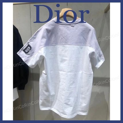 Christian Dior More T-Shirts Cotton Short Sleeves Luxury T-Shirts 2