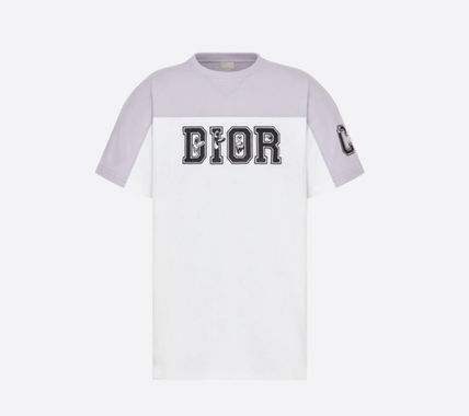 Christian Dior More T-Shirts Cotton Short Sleeves Luxury T-Shirts 3