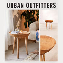 Urban Outfitters Wooden Furniture Night Stands Table & Chair