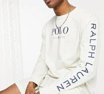 POLO RALPH LAUREN Crew Neck Pullovers Street Style Collaboration Long Sleeves