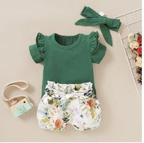 PatPat Co-ord Baby Girl Tops