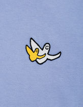 Mark Gonzales More T-Shirts Unisex Street Style Plain Short Sleeves Logos on the Sleeves 18