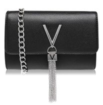 VALENTINO Casual Style Street Style Chain Plain Leather Party Style