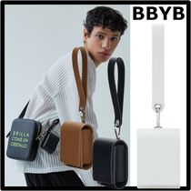 BBYB Street Style Leather Logo Tech Accessories