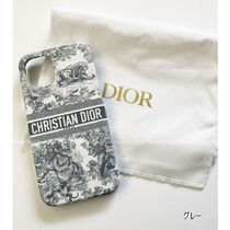 Christian Dior Other Animal Patterns Leather Logo iPhone 11 Pro iPhone 11