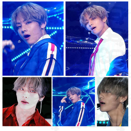 """★NUMBERING★ BTS V """"DNA"""" Drop Style Earring"""