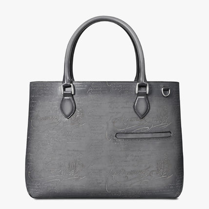Berluti A4 Leather Logo Business & Briefcases