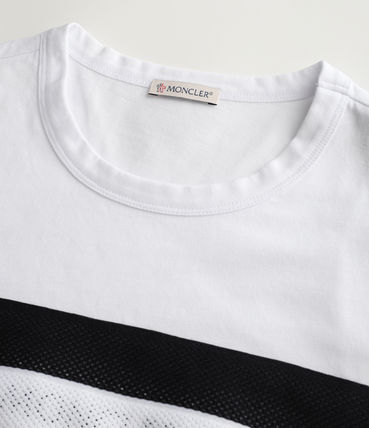 MONCLER More T-Shirts Street Style Cotton Short Sleeves Logo T-Shirts 3