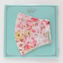TOCCA Face Masks Flower Patterns Street Style Bridal Icy Color Face Masks 9