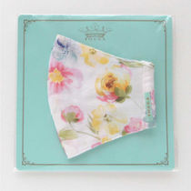 TOCCA Face Masks Flower Patterns Street Style Bridal Icy Color Face Masks 17