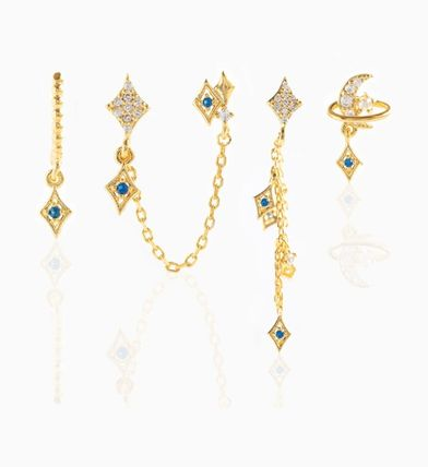 Costume Jewelry Star Casual Style Party Style Brass 18K Gold