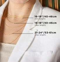 Monica Vinader Necklaces & Pendants Costume Jewelry Casual Style Chain Party Style Silver 5