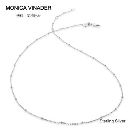 Monica Vinader Necklaces & Pendants Costume Jewelry Casual Style Chain Party Style Silver