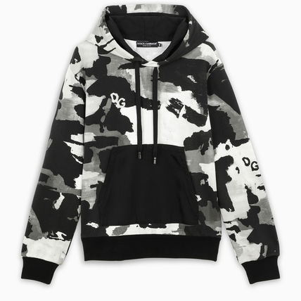 Pullovers Unisex Blended Fabrics Street Style Long Sleeves