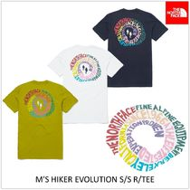 THE NORTH FACE Unisex Short Sleeves Logo Outdoor T-Shirts