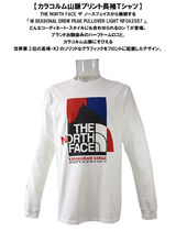 THE NORTH FACE Long Sleeve Crew Neck Pullovers Unisex Street Style Long Sleeves Cotton 7