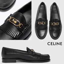 CELINE Rubber Sole Casual Style Unisex Street Style Party Style