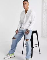 ASOS Shirts Asos Design Relaxed Fit Overhead Linen Shirt In White 4