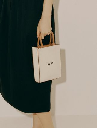 Casual Style Plain Formal Style  Satchels