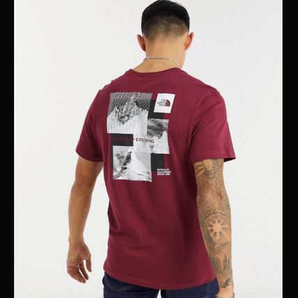 THE NORTH FACE More T-Shirts Street Style Cotton Short Sleeves Logo Outdoor T-Shirts 2