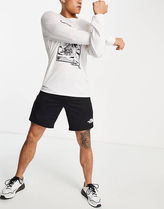 THE NORTH FACE Sweat Street Style Bi-color Logo Joggers Shorts