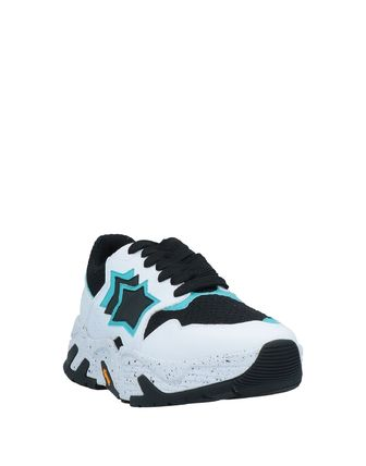 Star Street Style Leather Logo Sneakers