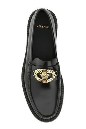 VERSACE Leather Oxfords