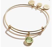 Alex and Ani Bangles Casual Style Party Style Silver 14K Gold