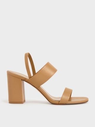 Charles&Keith Casual Style Party Style Sandals