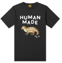 HUMAN MADE Crew Neck Crew Neck Pullovers Street Style Cotton Short Sleeves Logo 5