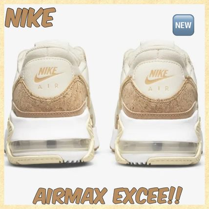 Nike AIR MAX Casual Style Street Style Plain Logo Low-Top Sneakers