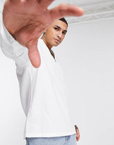 ASOS Shirts Asos Design Relaxed Fit Overhead Linen Shirt In White 5