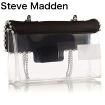 Steve Madden Casual Style Blended Fabrics Plain Party Style