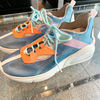 Rubber Sole Casual Style Leather Logo Low-Top Sneakers