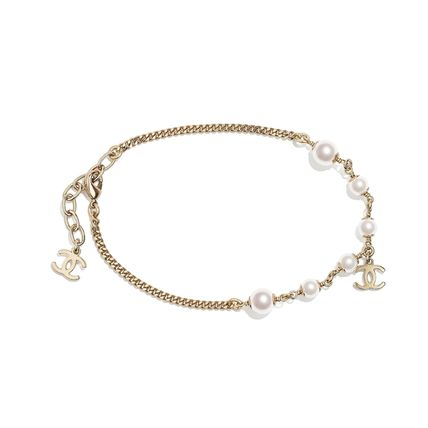 CHANEL Casual Style Party Style Elegant Style Anklets