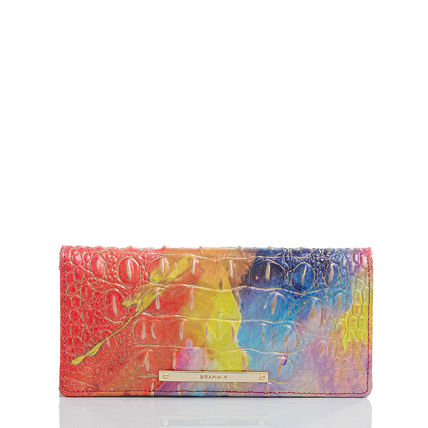 Brahmin Other Animal Patterns Leather Long Wallets