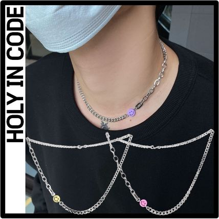 HOLY IN CODE Casual Style Street Style Necklaces & Pendants