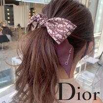 Christian Dior DIOR OBLIQUE Casual Style Silk Party Style Elegant Style Logo