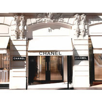 CHANEL Casual Style Unisex Party Style Platinum Brass Office Style