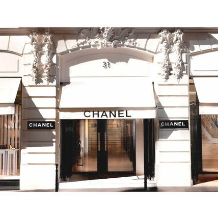 CHANEL Casual Style Party Style Platinum Brass Office Style