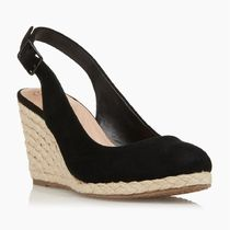 Dune LONDON Suede Plain Formal Style  Wedge Pumps & Mules