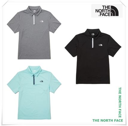THE NORTH FACE Polos Street Style Short Sleeves Logo Outdoor Polos