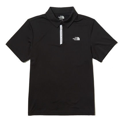 THE NORTH FACE Polos Street Style Short Sleeves Logo Outdoor Polos 2