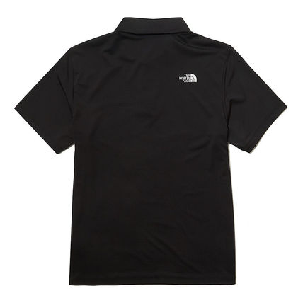 THE NORTH FACE Polos Street Style Short Sleeves Logo Outdoor Polos 3