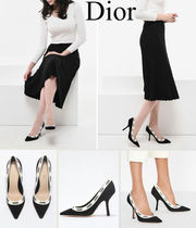 Christian Dior Street Style Logo Pumps & Mules