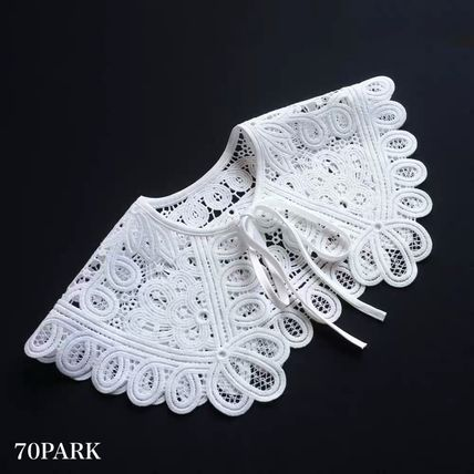 Casual Style Elegant Style Collars