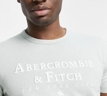 Abercrombie & Fitch More T-Shirts Street Style Plain Cotton Short Sleeves Long Sleeve T-shirt 2