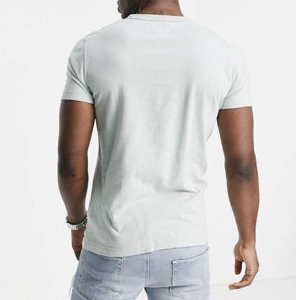 Abercrombie & Fitch More T-Shirts Street Style Plain Cotton Short Sleeves Long Sleeve T-shirt 3