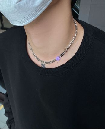 HOLY IN CODE Unisex Street Style Necklaces & Pendants